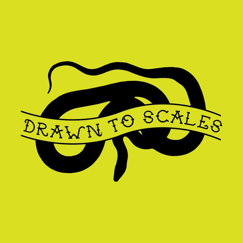 Drawn to Scales Men's T-Shirt by Drawn to Scales