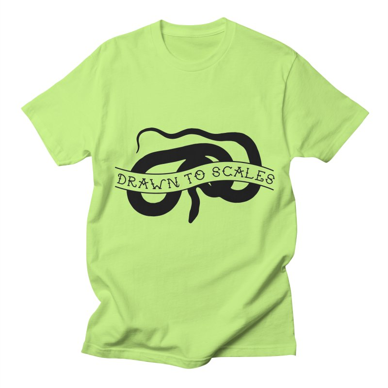 Drawn to Scales in Men's Regular T-Shirt Neon Green by Drawn to Scales