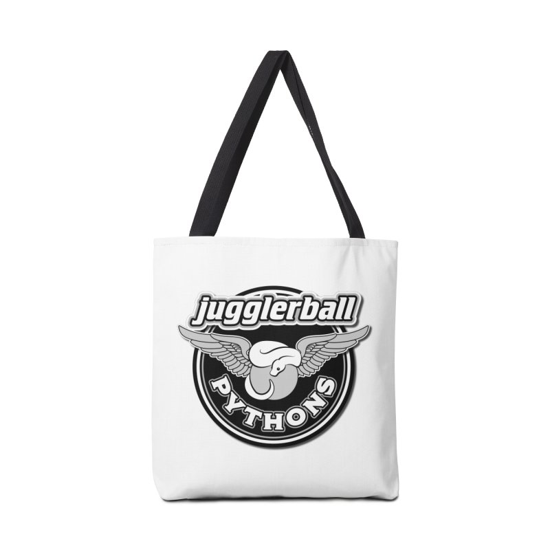 jugglerball PYTHONS Accessories Tote Bag Bag by Drawn to Scales