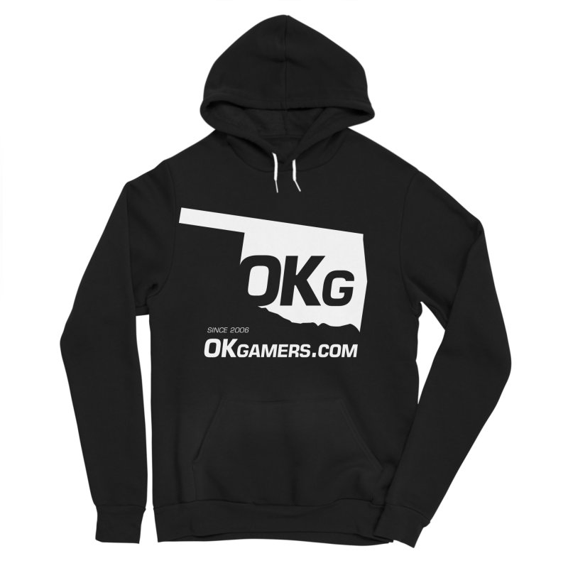 OKgamers.com - Oklahoma Gamers Women's Sponge Fleece Pullover Hoody by Oklahoma Gamers' Shop