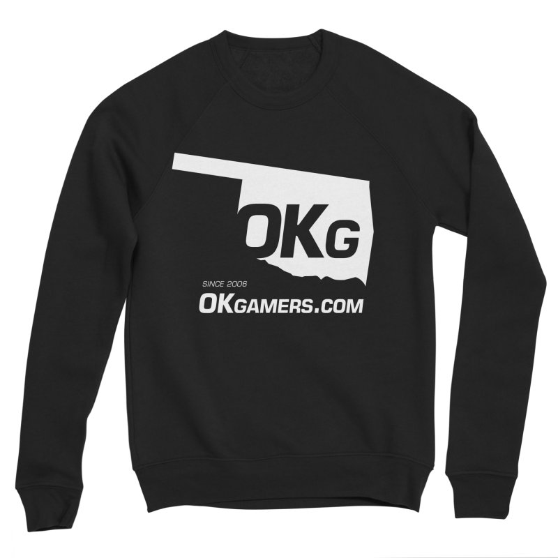 OKgamers.com - Oklahoma Gamers Women's Sponge Fleece Sweatshirt by Oklahoma Gamers' Shop