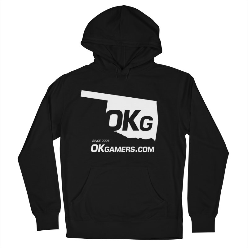 OKgamers.com - Oklahoma Gamers in Men's French Terry Pullover Hoody Black by OKgamers's Shop