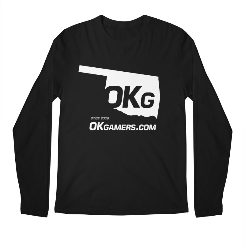 OKgamers.com - Oklahoma Gamers Men's Regular Longsleeve T-Shirt by OKgamers's Shop