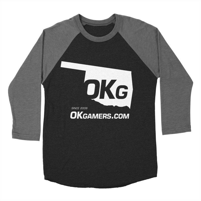 OKgamers.com - Oklahoma Gamers Women's Baseball Triblend T-Shirt by OKgamers's Shop