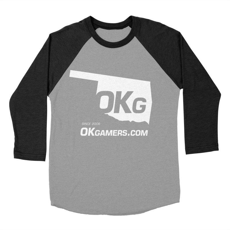 OKgamers.com - Oklahoma Gamers Women's Baseball Triblend Longsleeve T-Shirt by Oklahoma Gamers' Shop
