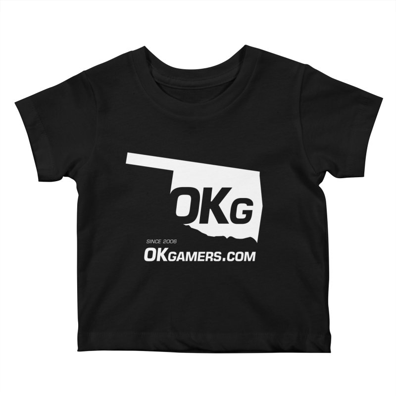 OKgamers.com - Oklahoma Gamers Kids Baby T-Shirt by Oklahoma Gamers' Shop