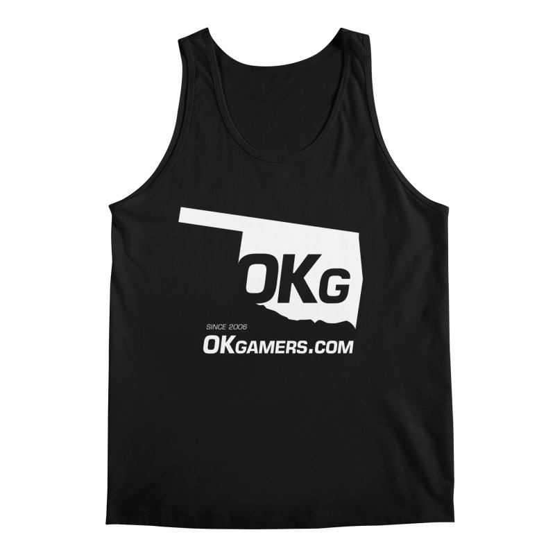 OKgamers.com - Oklahoma Gamers Men's Tank by Oklahoma Gamers' Shop
