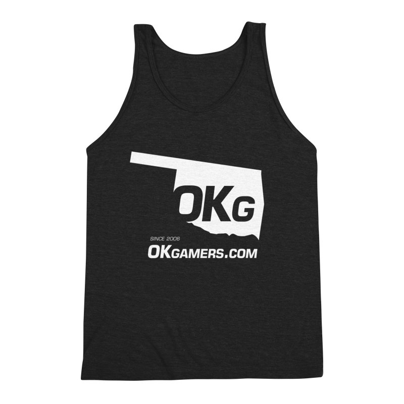 OKgamers.com - Oklahoma Gamers Men's Triblend Tank by Oklahoma Gamers' Shop