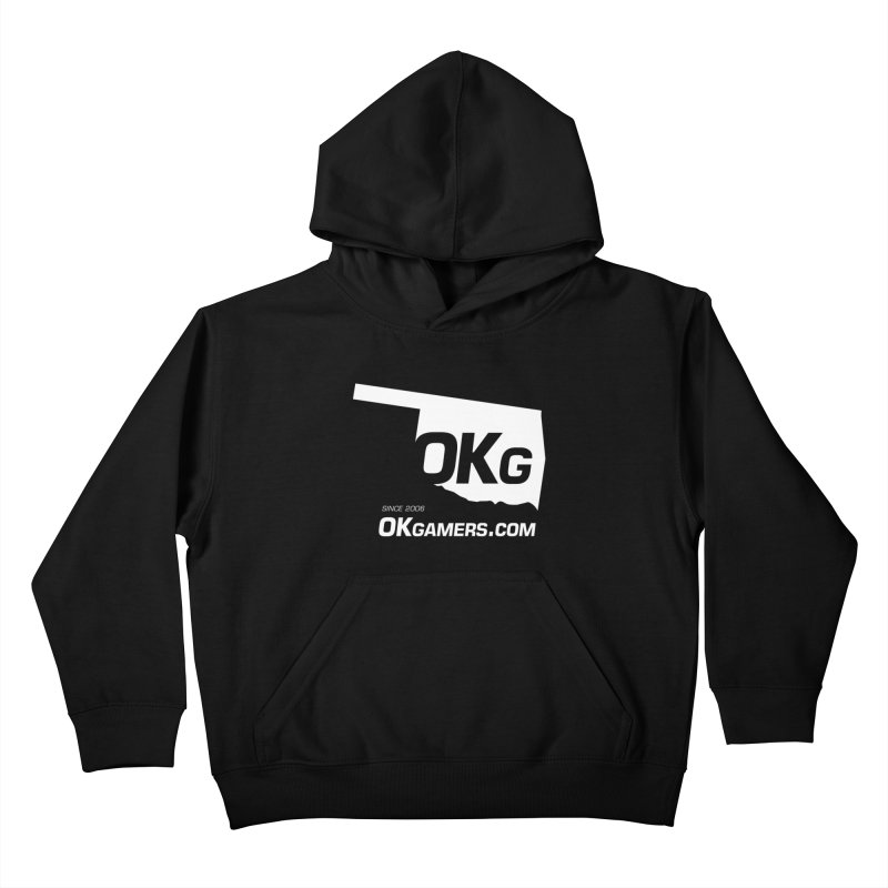 OKgamers.com - Oklahoma Gamers Kids Pullover Hoody by OKgamers's Shop
