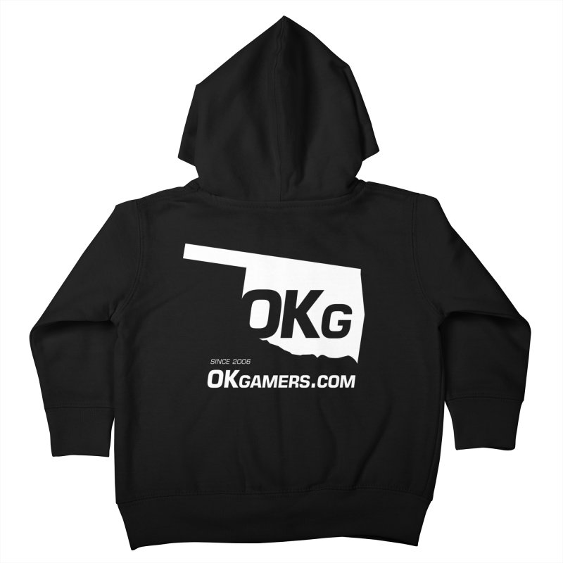 OKgamers.com - Oklahoma Gamers Kids Toddler Zip-Up Hoody by OKgamers's Shop
