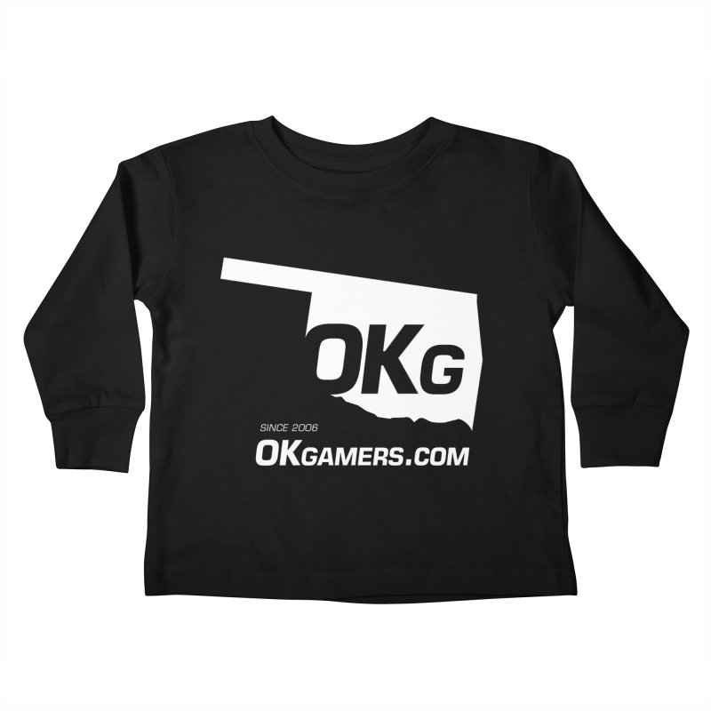 OKgamers.com - Oklahoma Gamers Kids Toddler Longsleeve T-Shirt by OKgamers's Shop