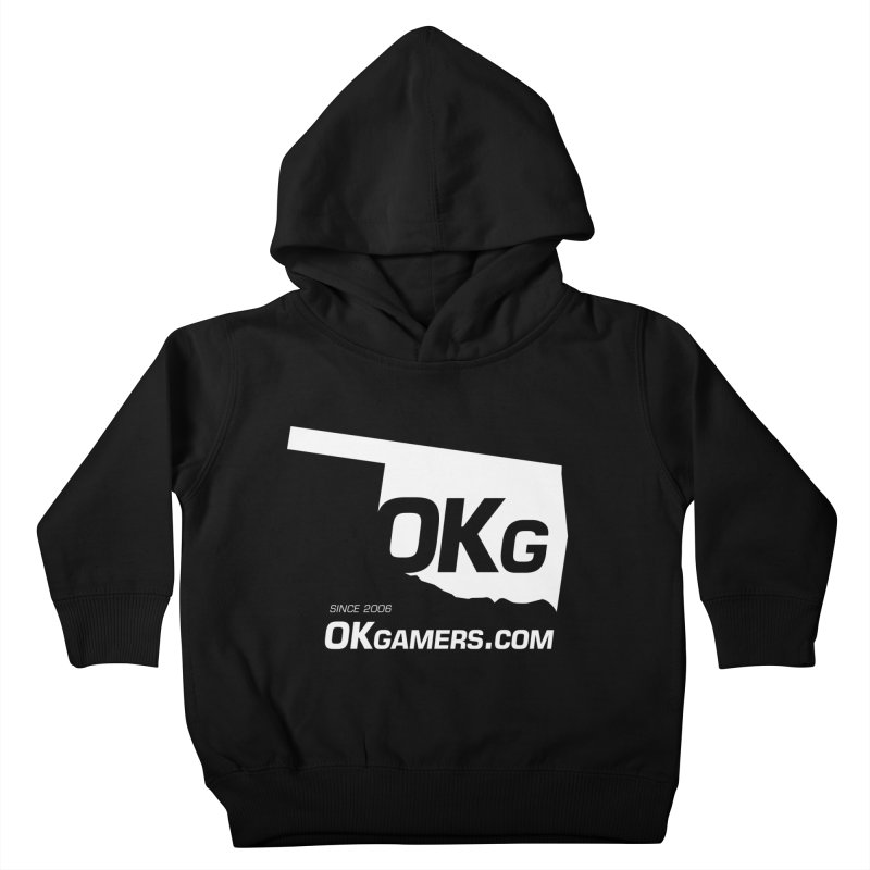 OKgamers.com - Oklahoma Gamers Kids Toddler Pullover Hoody by OKgamers's Shop