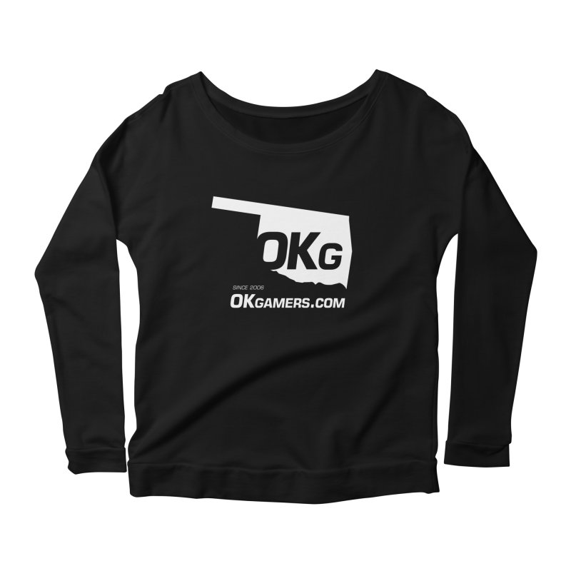 OKgamers.com - Oklahoma Gamers Women's Scoop Neck Longsleeve T-Shirt by OKgamers's Shop