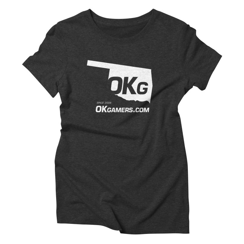OKgamers.com - Oklahoma Gamers Women's Triblend T-Shirt by Oklahoma Gamers' Shop
