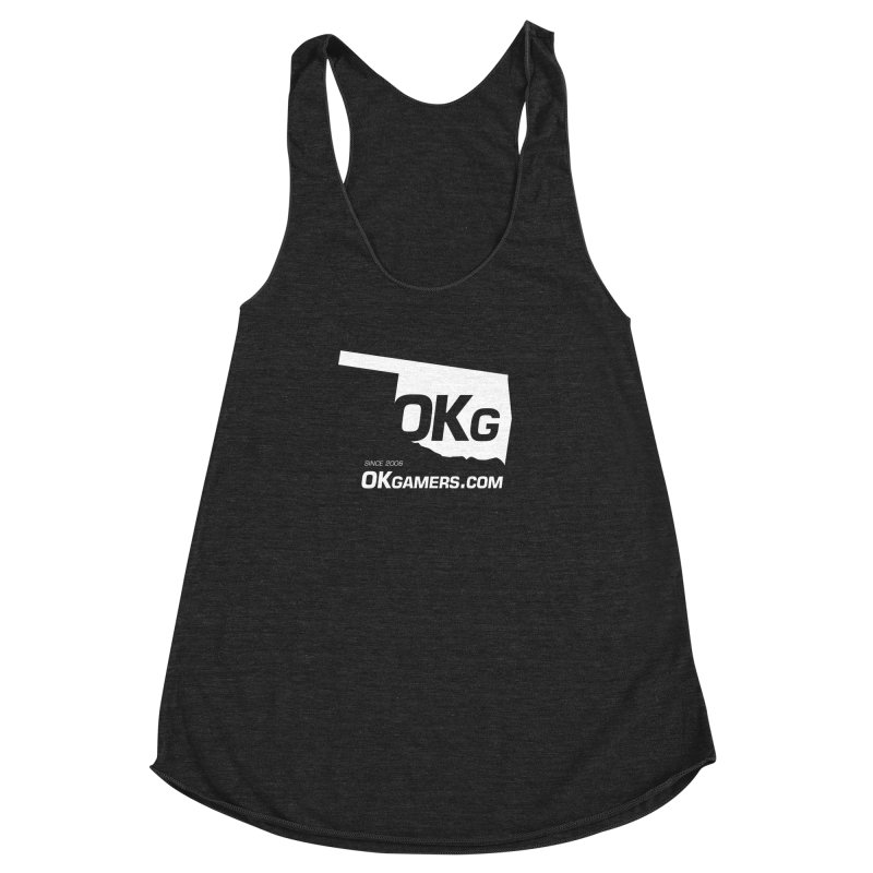 OKgamers.com - Oklahoma Gamers 2017 Women's Racerback Triblend Tank by OKgamers's Shop