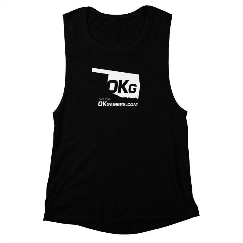 OKgamers.com - Oklahoma Gamers Women's Muscle Tank by OKgamers's Shop
