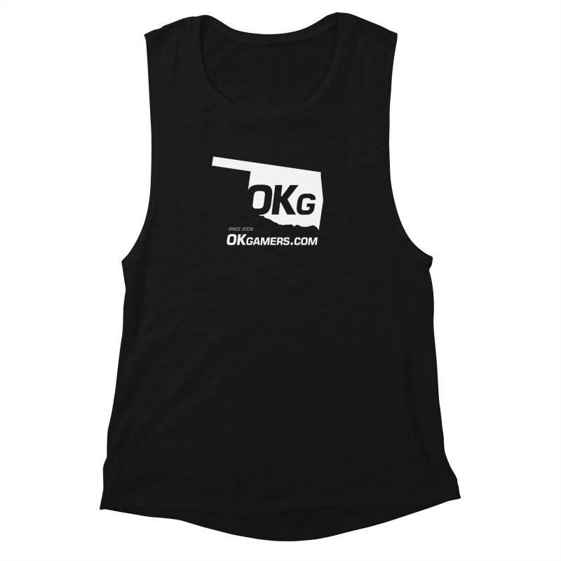 OKgamers.com - Oklahoma Gamers 2017 Women's Muscle Tank by OKgamers's Shop