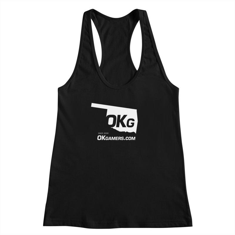 OKgamers.com - Oklahoma Gamers 2017 Women's Racerback Tank by OKgamers's Shop