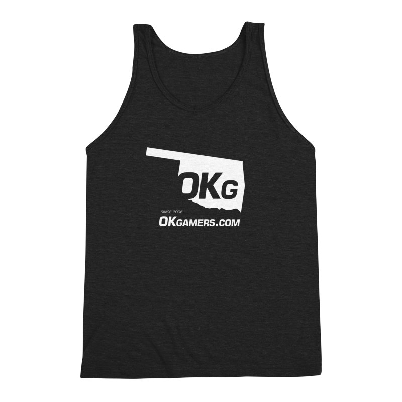 OKgamers.com - Oklahoma Gamers 2017 Men's Triblend Tank by OKgamers's Shop