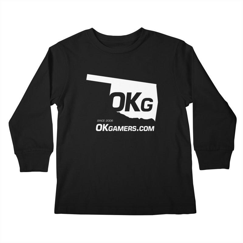 OKgamers.com - Oklahoma Gamers Kids Longsleeve T-Shirt by OKgamers's Shop