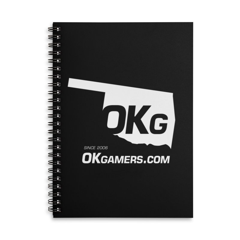 OKgamers.com - Oklahoma Gamers Accessories Notebook by Oklahoma Gamers' Shop