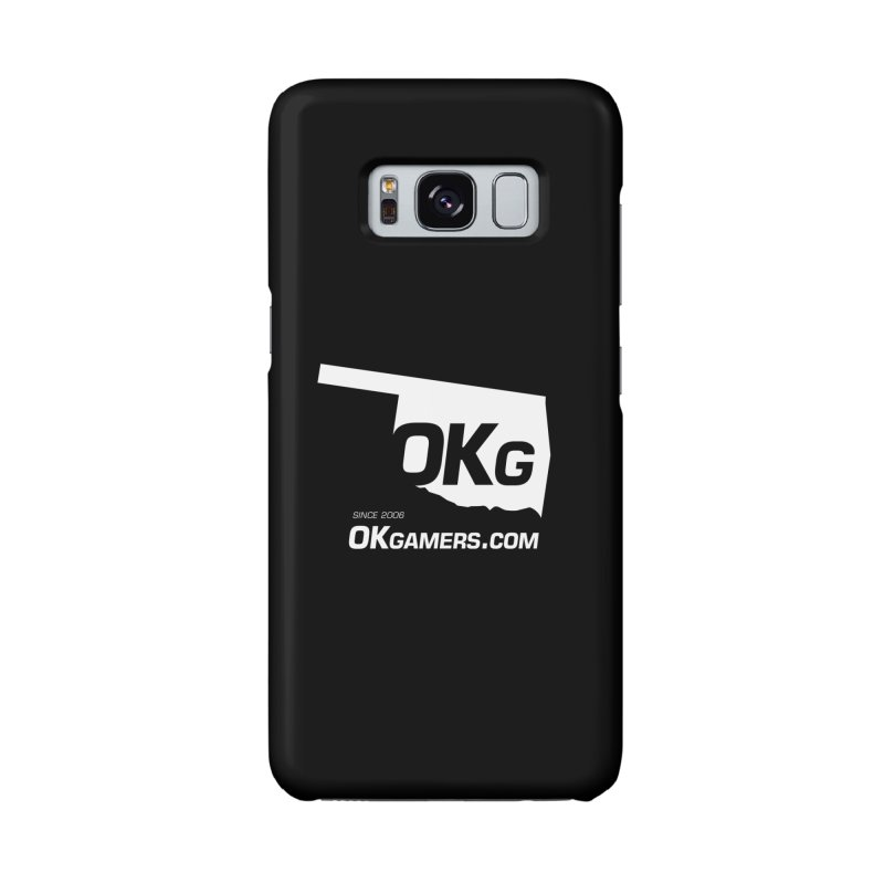 OKgamers.com - Oklahoma Gamers in Galaxy S8 Phone Case Slim by OKgamers's Shop