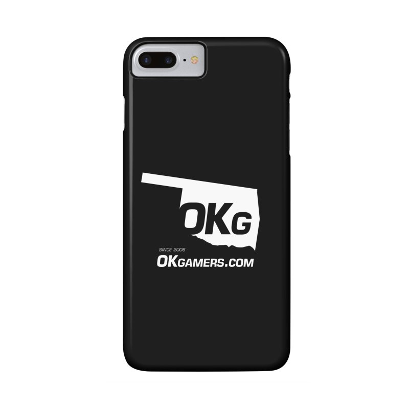 OKgamers.com - Oklahoma Gamers in iPhone 7 Plus Phone Case Slim by OKgamers's Shop