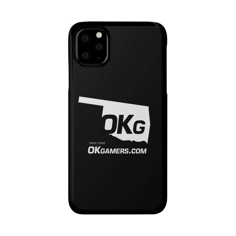 OKgamers.com - Oklahoma Gamers Accessories Phone Case by Oklahoma Gamers' Shop