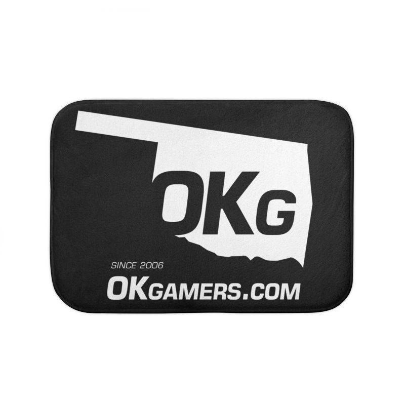 OKgamers.com - Oklahoma Gamers Home Bath Mat by OKgamers's Shop