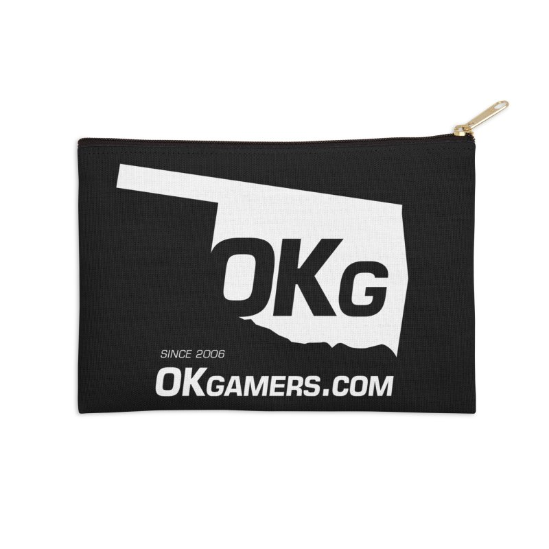 OKgamers.com - Oklahoma Gamers Accessories Zip Pouch by Oklahoma Gamers' Shop