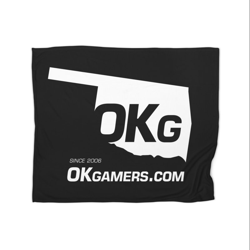 OKgamers.com - Oklahoma Gamers Home Blanket by Oklahoma Gamers' Shop
