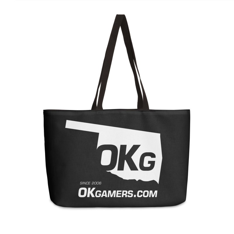 OKgamers.com - Oklahoma Gamers Accessories Weekender Bag Bag by Oklahoma Gamers' Shop