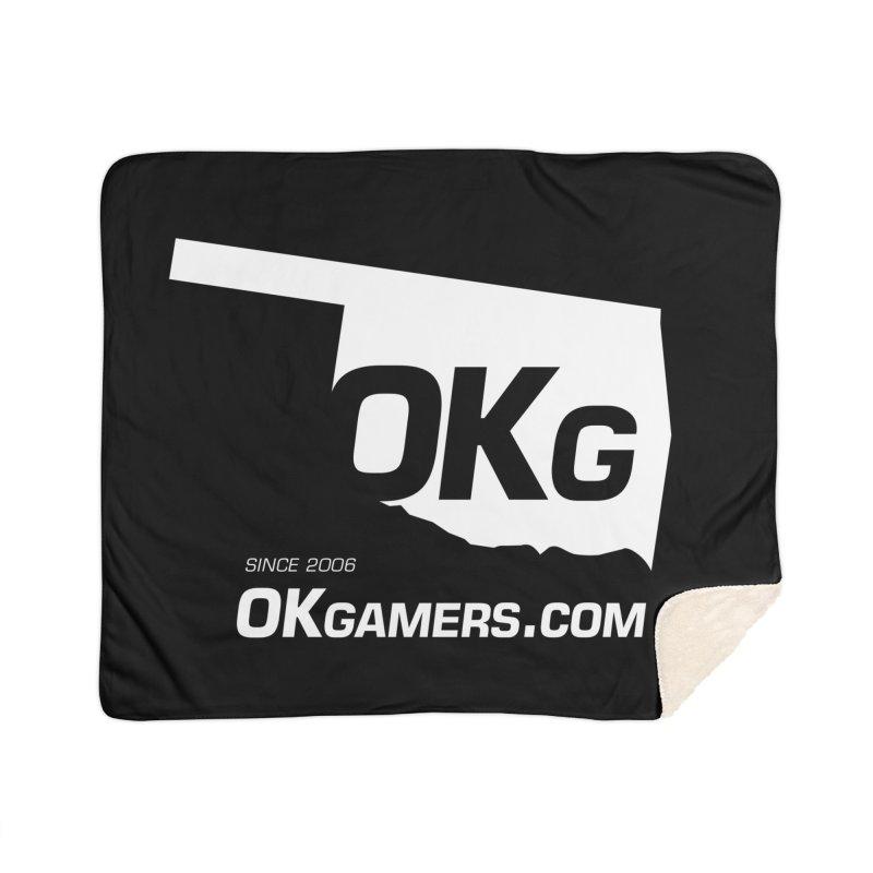 OKgamers.com - Oklahoma Gamers Home Sherpa Blanket Blanket by Oklahoma Gamers' Shop