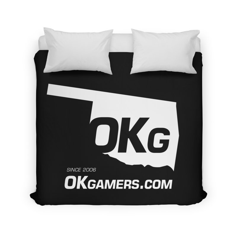 OKgamers.com - Oklahoma Gamers Home Duvet by OKgamers's Shop