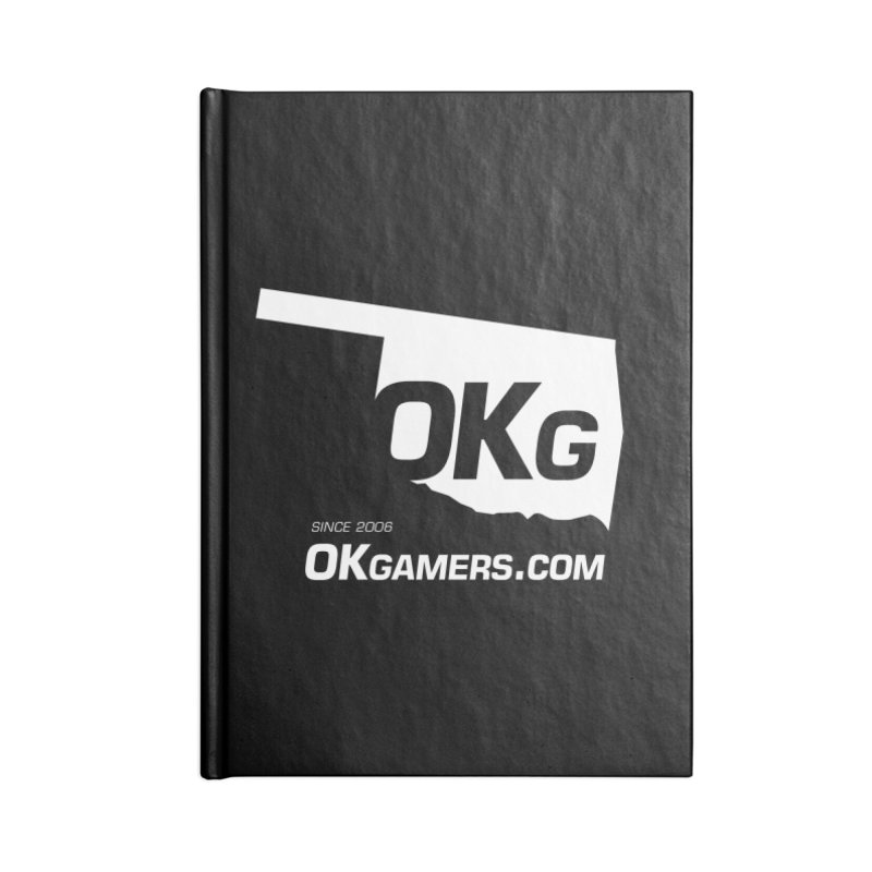 OKgamers.com - Oklahoma Gamers Accessories Blank Journal Notebook by Oklahoma Gamers' Shop