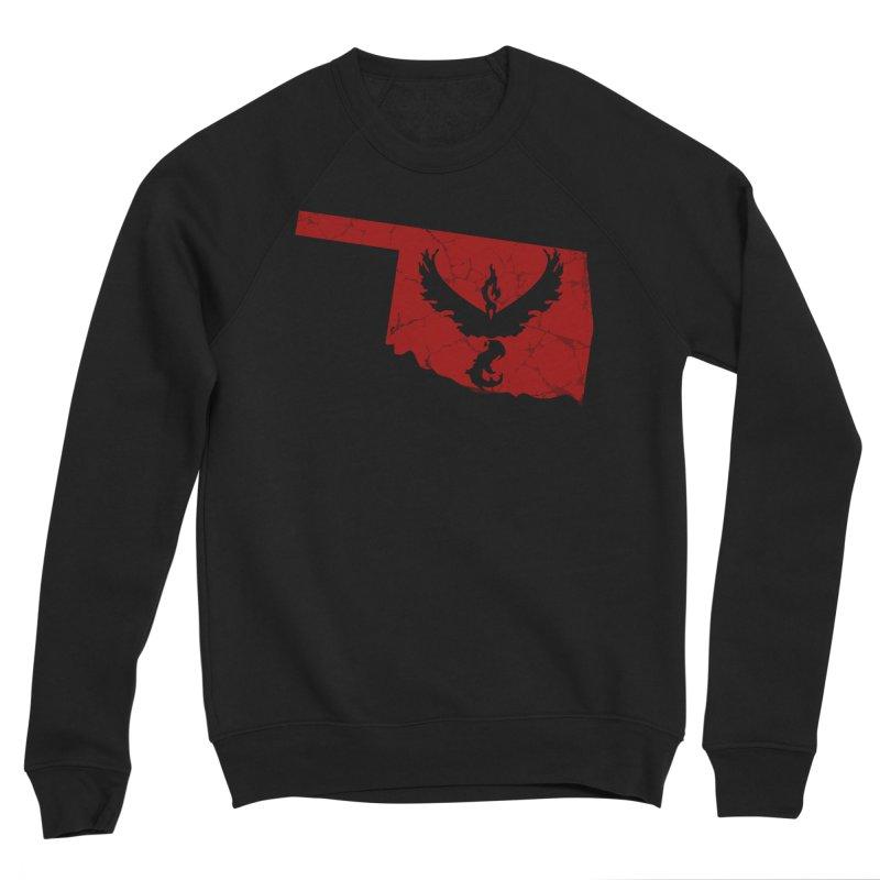 Pokemon Go Oklahoma - Team Valor Women's Sponge Fleece Sweatshirt by Oklahoma Gamers' Shop
