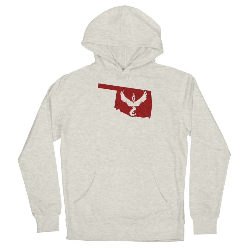 Pokemon Go Oklahoma - Team Valor Women's French Terry Pullover Hoody by Oklahoma Gamers' Shop