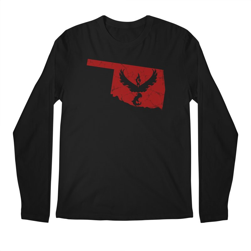 Pokemon Go Oklahoma - Team Valor Men's Regular Longsleeve T-Shirt by OKgamers's Shop