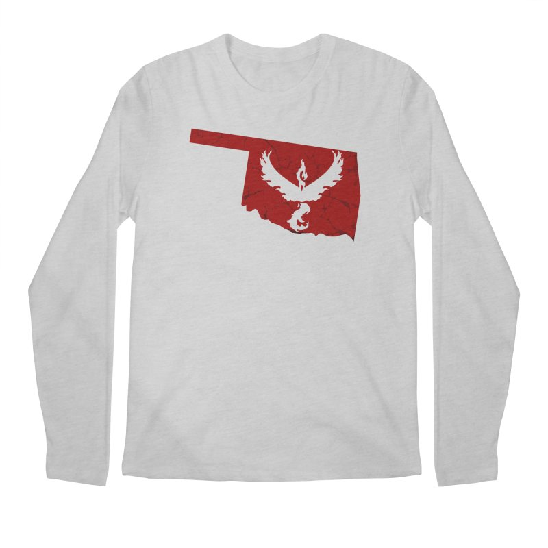 Pokemon Go Oklahoma - Team Valor Men's Longsleeve T-Shirt by OKgamers's Shop