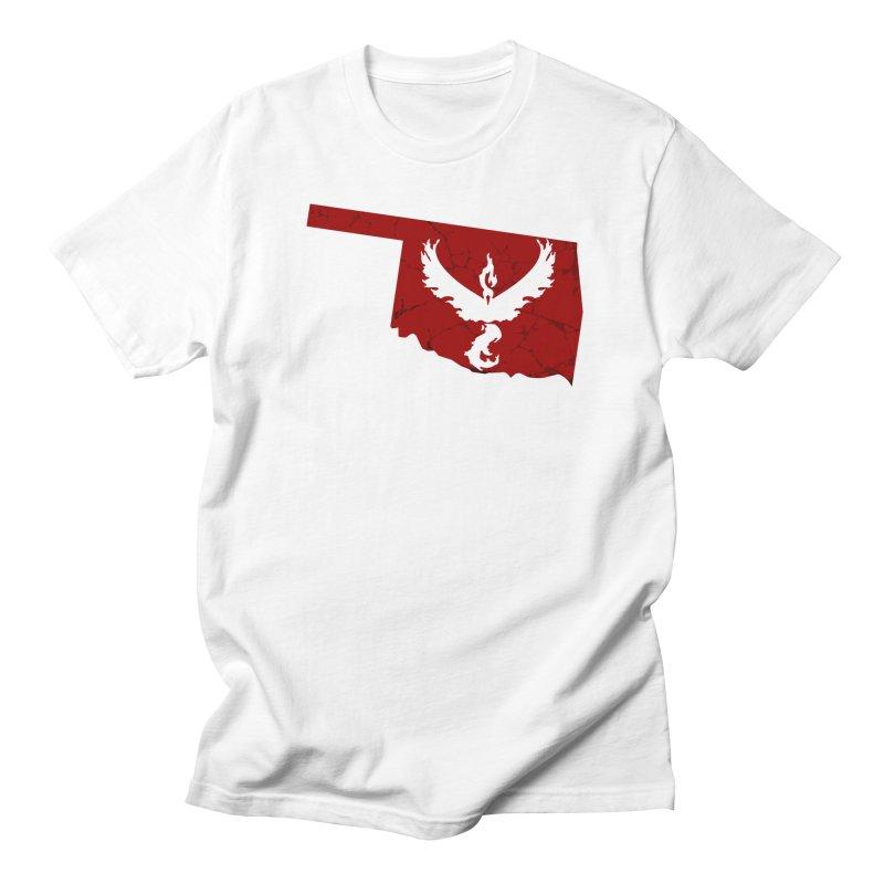 Pokemon Go Oklahoma - Team Valor Men's T-Shirt by OKgamers's Shop