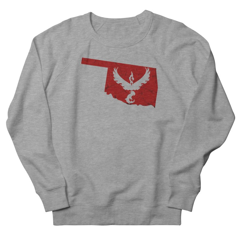 Pokemon Go Oklahoma - Team Valor Women's French Terry Sweatshirt by OKgamers's Shop
