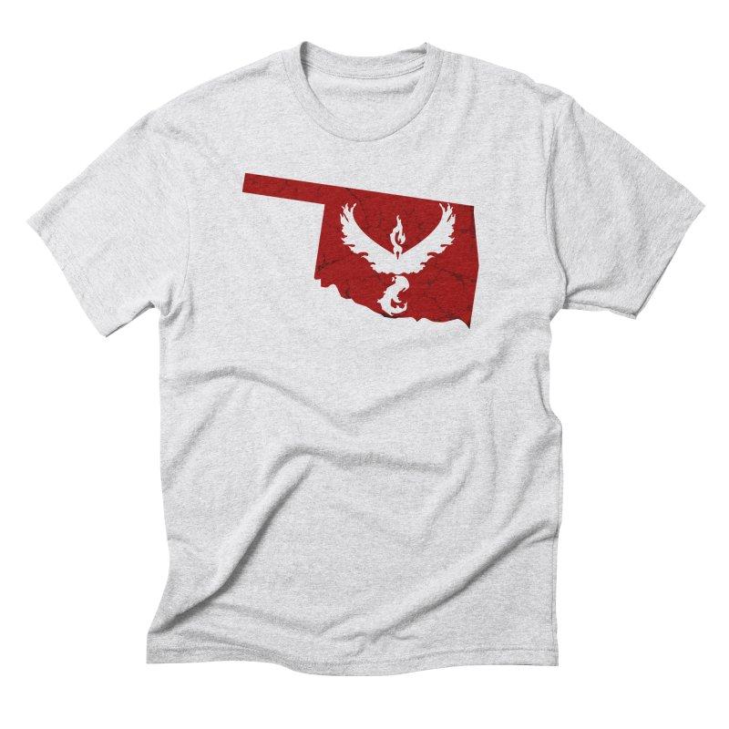 Pokemon Go Oklahoma - Team Valor Men's Triblend T-Shirt by OKgamers's Shop