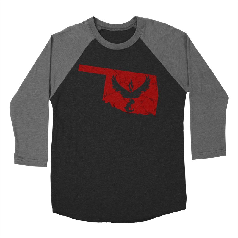 Pokemon Go Oklahoma - Team Valor Men's Baseball Triblend T-Shirt by OKgamers's Shop