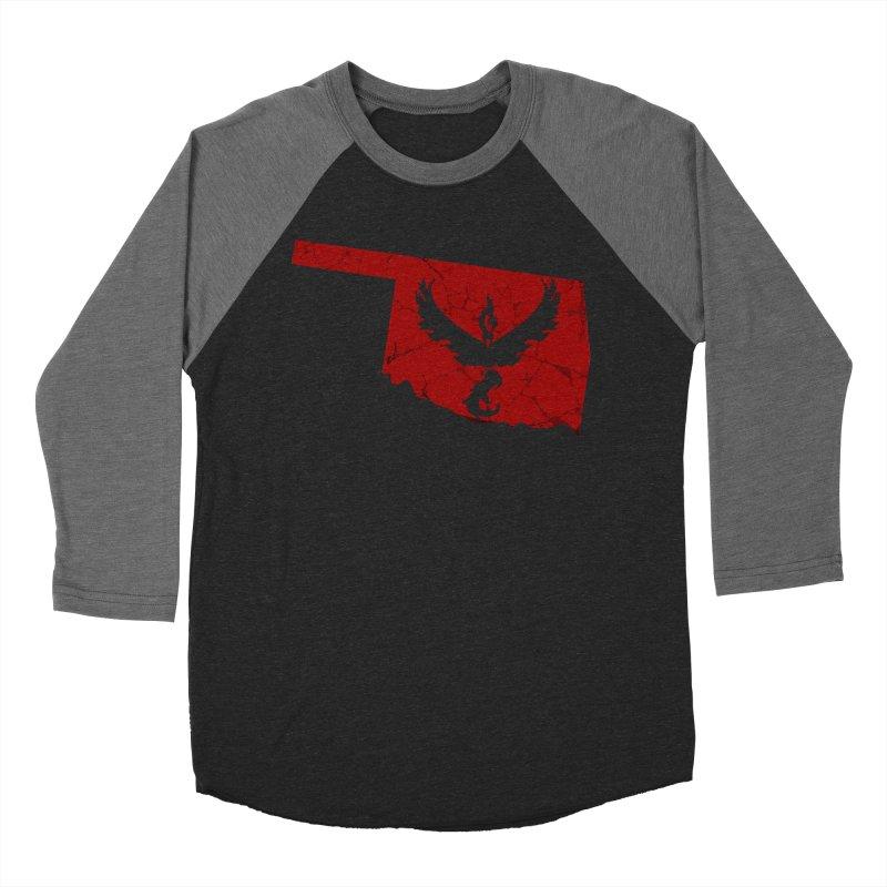 Pokemon Go Oklahoma - Team Valor Men's Baseball Triblend Longsleeve T-Shirt by OKgamers's Shop