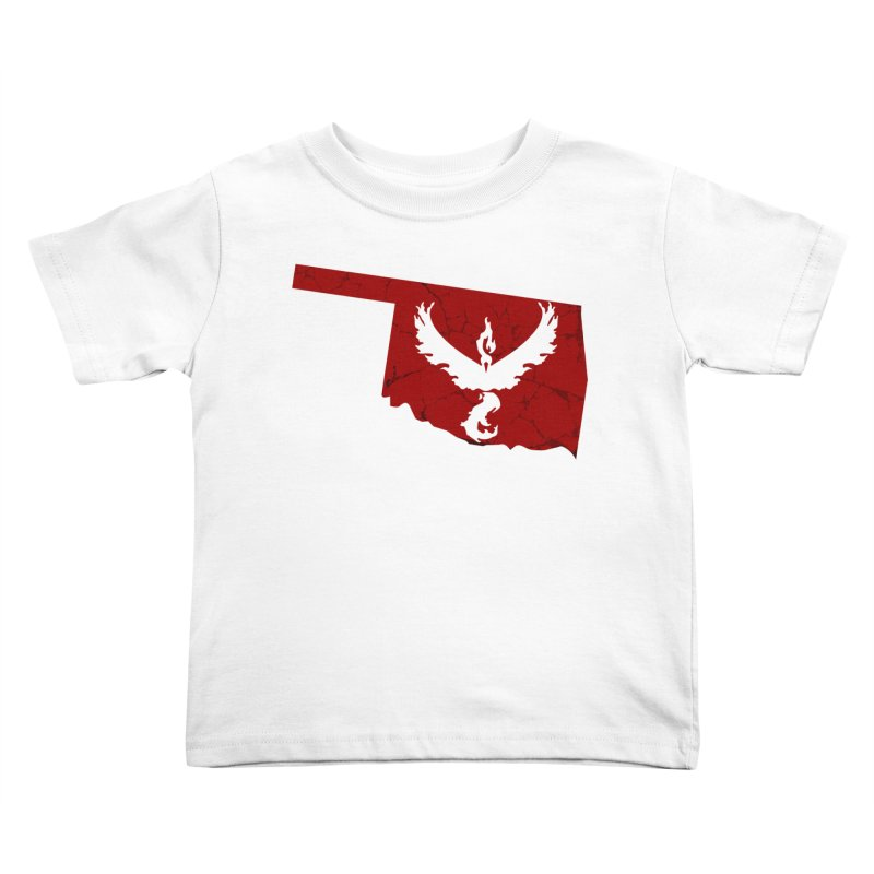 Pokemon Go Oklahoma - Team Valor Kids Toddler T-Shirt by OKgamers's Shop