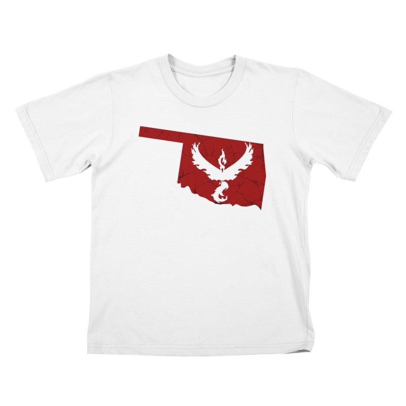 Pokemon Go Oklahoma - Team Valor Kids T-shirt by OKgamers's Shop