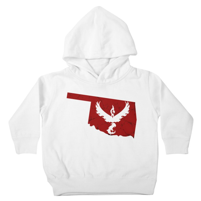 Pokemon Go Oklahoma - Team Valor Kids Toddler Pullover Hoody by OKgamers's Shop