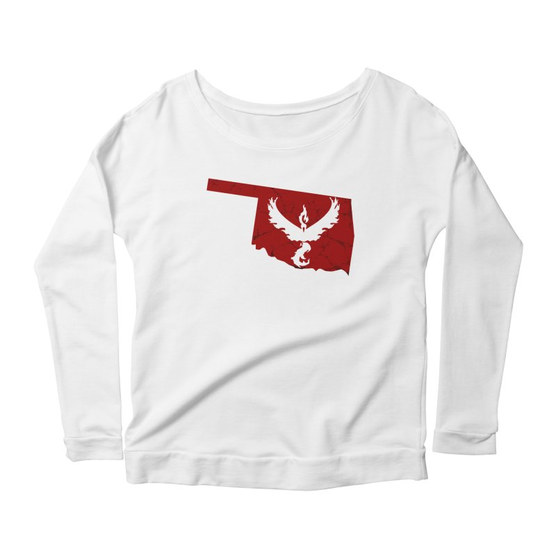 Pokemon Go Oklahoma - Team Valor Women's Scoop Neck Longsleeve T-Shirt by OKgamers's Shop