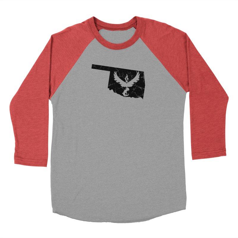 Pokemon Go Oklahoma -Team Valor (Black) Women's Baseball Triblend Longsleeve T-Shirt by Oklahoma Gamers' Shop