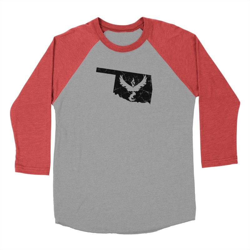 Pokemon Go Oklahoma -Team Valor (Black) Men's Longsleeve T-Shirt by Oklahoma Gamers' Shop